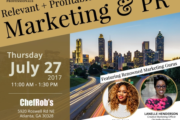 Relevant + Profitable Marketing & PR: A Summertime Luncheon