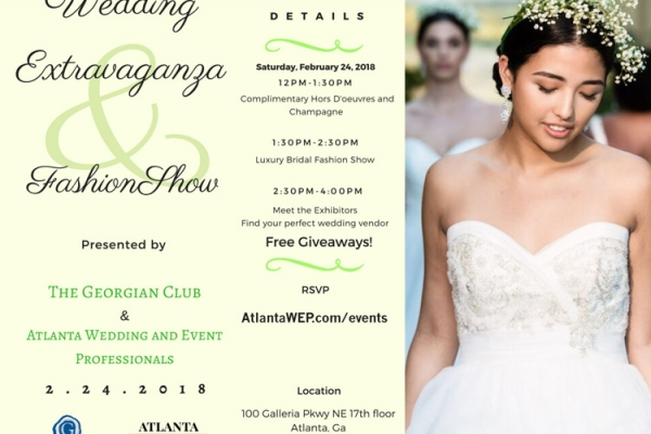 The Georgian Club Wedding Extravaganza and Luxury Fashion Show by #AtlantaWEP & ICON Stylist