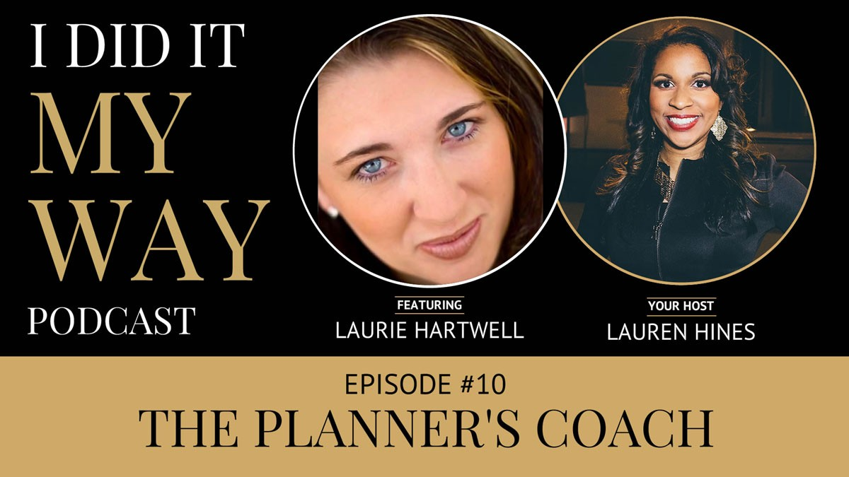 Laurie Hartwell:  The Planner's Coach - IDIMY010