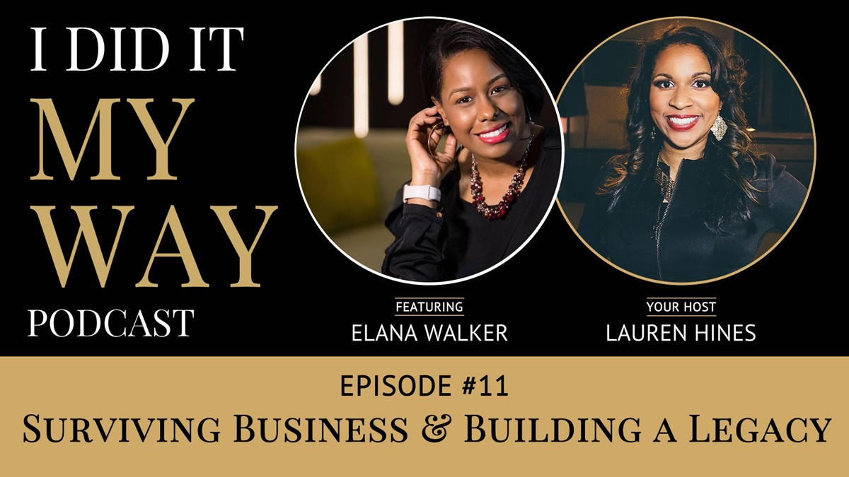 Elana Walker:  Surviving Business & Building a Legacy - IDIMY011