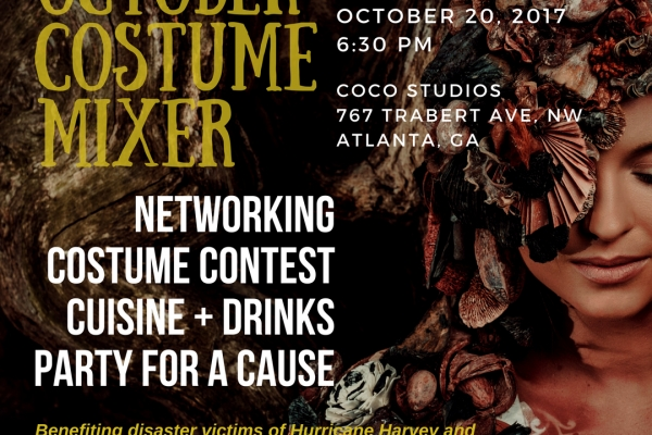 OCTOBER COSTUME MIXER + PARTY
