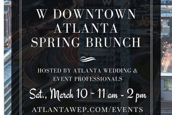 THE W DOWNTOWN SPRING BRUNCH